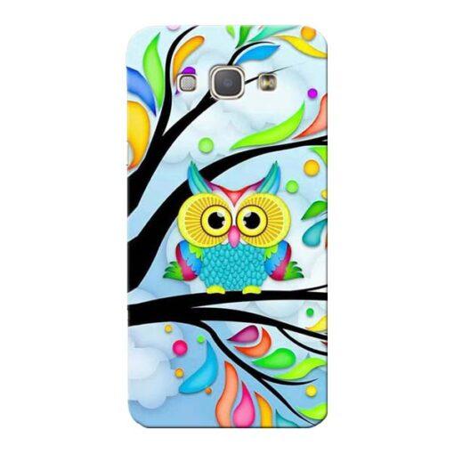 Spring Owl Samsung Galaxy A8 2015 Mobile Cover