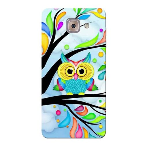 Spring Owl Samsung Galaxy J7 Max Mobile Cover