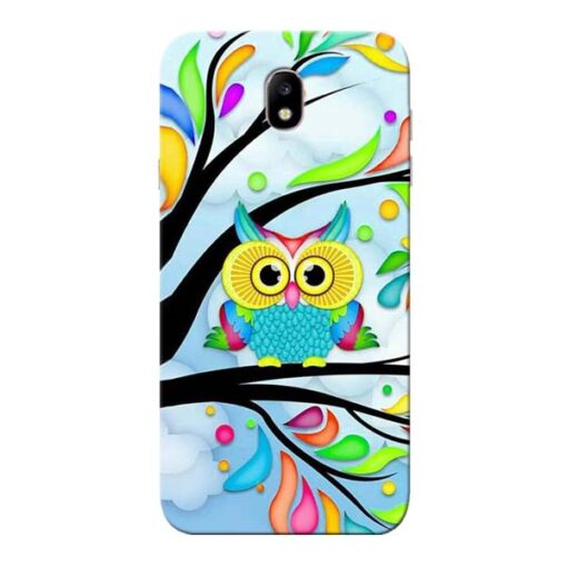 Spring Owl Samsung Galaxy J7 Pro Mobile Cover
