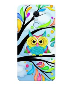 Spring Owl Xiaomi Redmi Note 5 Mobile Cover