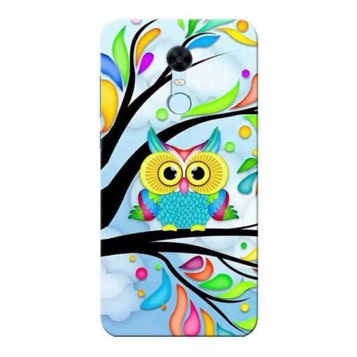 Spring Owl Xiaomi Redmi Note 5 Mobile Cover