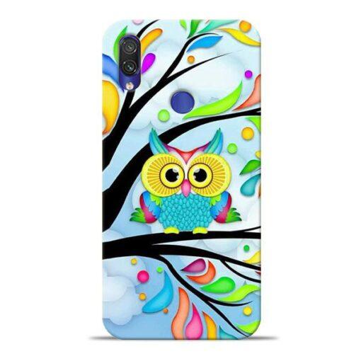 Spring Owl Xiaomi Redmi Note 7 Mobile Cover
