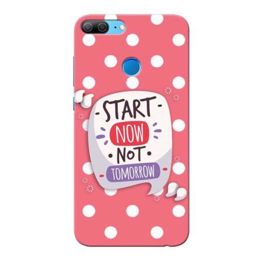 Start Now Honor 9 Lite Mobile Cover