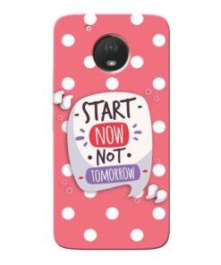 Start Now Moto E4 Plus Mobile Cover