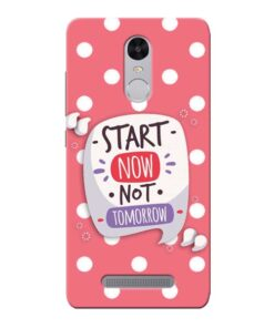 Start Now Xiaomi Redmi Note 3 Mobile Cover