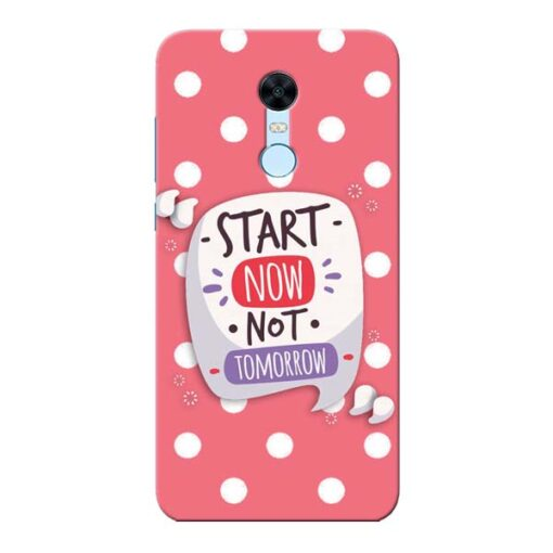 Start Now Xiaomi Redmi Note 5 Mobile Cover