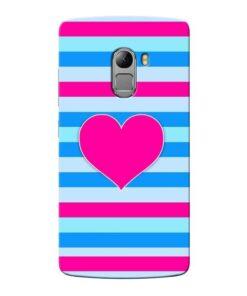 Stripes Line Lenovo Vibe K4 Note Mobile Cover