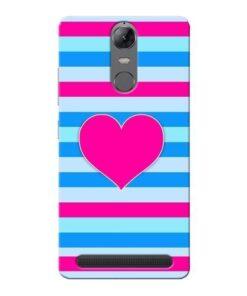 Stripes Line Lenovo Vibe K5 Note Mobile Cover