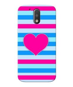 Stripes Line Moto G4 Mobile Cover