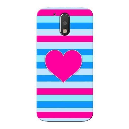 Stripes Line Moto G4 Plus Mobile Cover