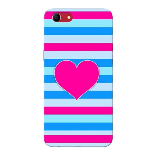 Stripes Line Oppo A83 Mobile Cover