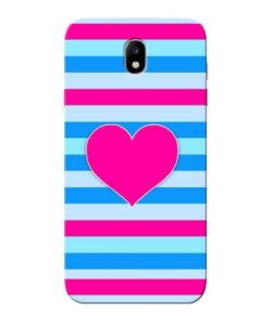 Stripes Line Samsung Galaxy J7 Pro Mobile Cover