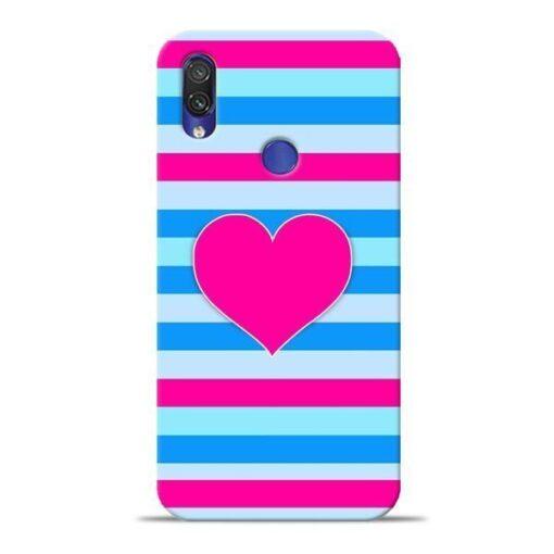 Stripes Line Xiaomi Redmi Note 7 Pro Mobile Cover