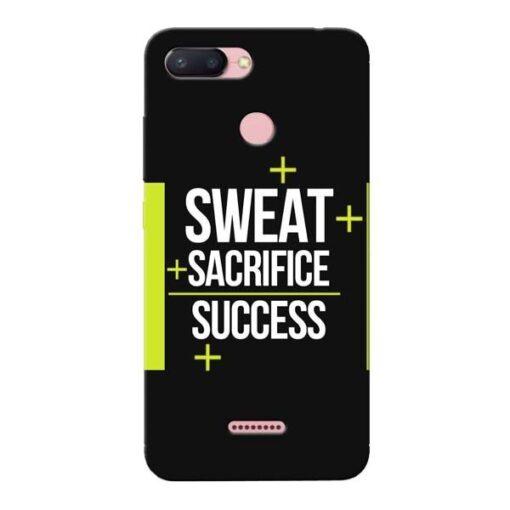 Success Xiaomi Redmi 6 Mobile Cover