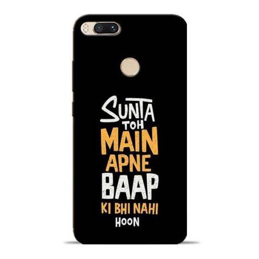 Sunta Toh Main Mi A1 Mobile Cover