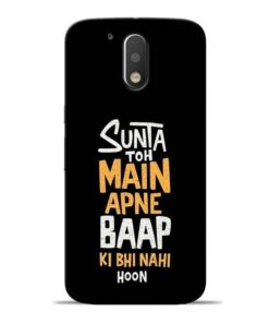 Sunta Toh Main Moto G4 Plus Mobile Cover
