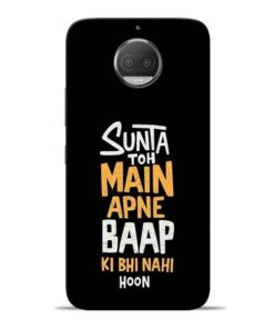 Sunta Toh Main Moto G5s Plus Mobile Cover