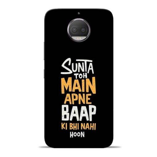 Sunta Toh Main Moto G5s Plus Mobile Cover