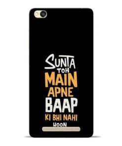 Sunta Toh Main Redmi 3s Mobile Cover