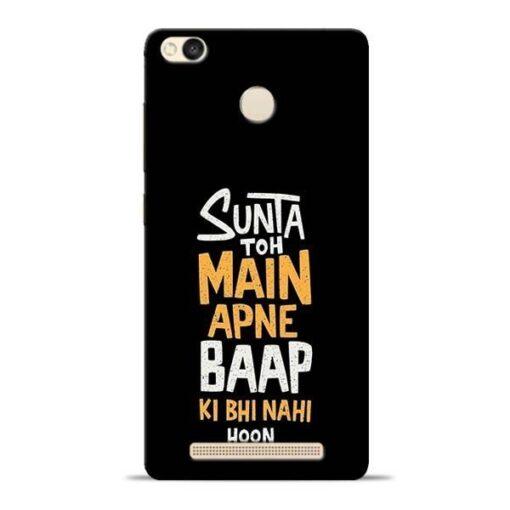 Sunta Toh Main Redmi 3s Prime Mobile Cover