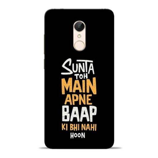 Sunta Toh Main Redmi 5 Mobile Cover