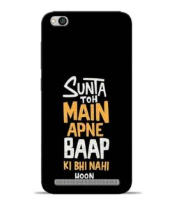 Sunta Toh Main Redmi 5A Mobile Cover