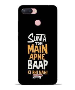 Sunta Toh Main Redmi 6 Mobile Cover