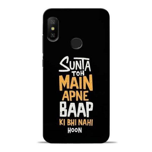 Sunta Toh Main Redmi 6 Pro Mobile Cover