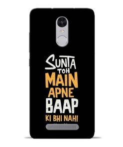 Sunta Toh Main Redmi Note 3 Mobile Cover