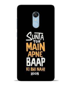 Sunta Toh Main Redmi Note 4 Mobile Cover