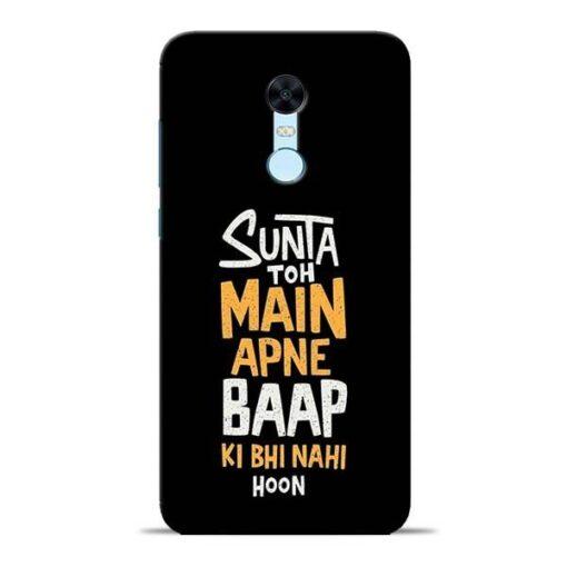 Sunta Toh Main Redmi Note 5 Mobile Cover