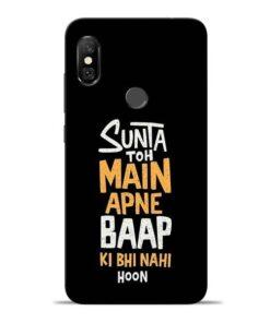 Sunta Toh Main Redmi Note 6 Pro Mobile Cover