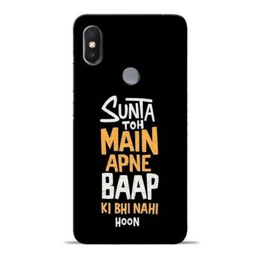 Sunta Toh Main Redmi Y2 Mobile Cover