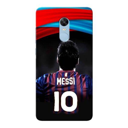 Super Messi Xiaomi Redmi Note 4 Mobile Cover