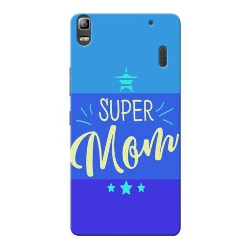 Super Mom Lenovo K3 Note Mobile Cover