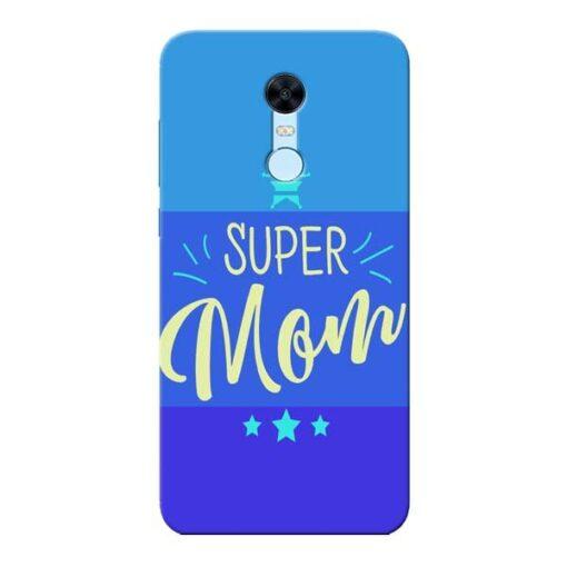 Super Mom Xiaomi Redmi Note 5 Mobile Cover