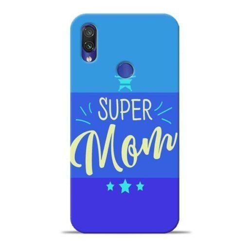 Super Mom Xiaomi Redmi Note 7 Mobile Cover