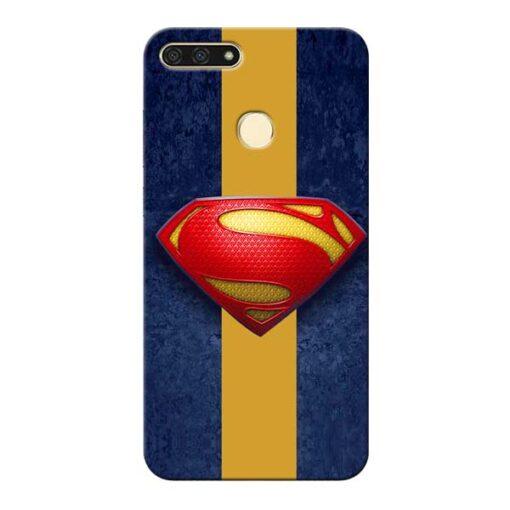 SuperMan Design Honor 7A Mobile Cover