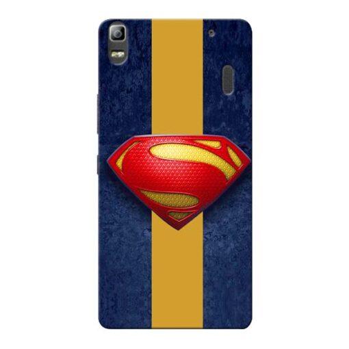 SuperMan Design Lenovo K3 Note Mobile Cover