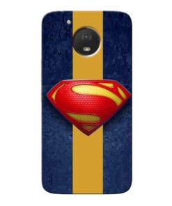 SuperMan Design Moto E4 Plus Mobile Cover