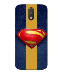 SuperMan Design Moto G4 Mobile Cover