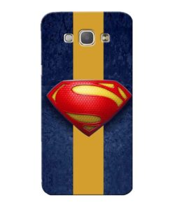 SuperMan Design Samsung Galaxy A8 2015 Mobile Cover