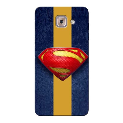 SuperMan Design Samsung Galaxy J7 Max Mobile Cover