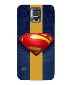 SuperMan Design Samsung Galaxy S5 Mobile Cover