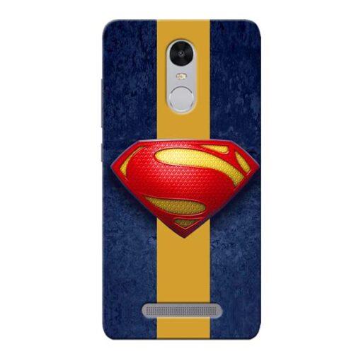 SuperMan Design Xiaomi Redmi Note 3 Mobile Cover