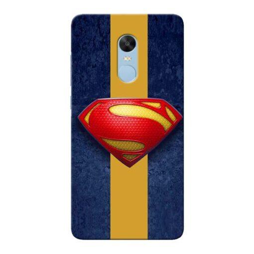 SuperMan Design Xiaomi Redmi Note 4 Mobile Cover