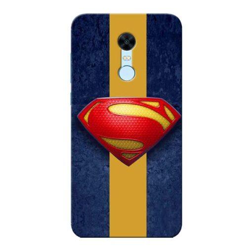 SuperMan Design Xiaomi Redmi Note 5 Mobile Cover