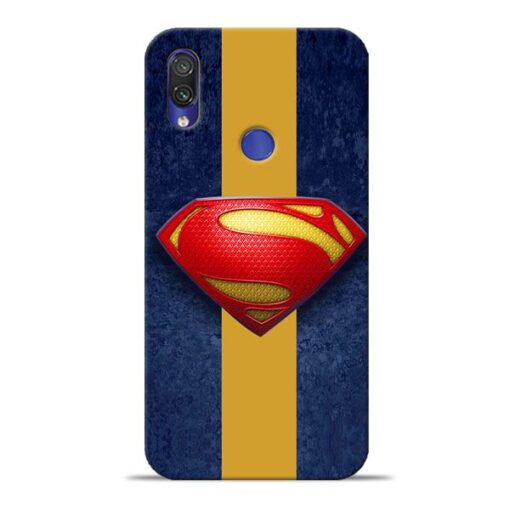 SuperMan Design Xiaomi Redmi Note 7 Mobile Cover