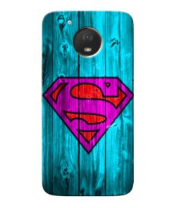 SuperMan Moto E4 Plus Mobile Cover