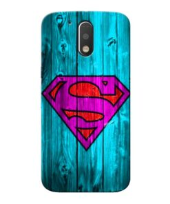 SuperMan Moto G4 Plus Mobile Cover